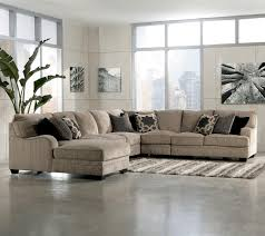 Leather Sectional Sofa With Chaise Furniture Cute And Pretty Ashley Sectional Sofa For Your Living