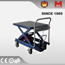 300kg hydraulic lift table cart portable dolly truck new lift