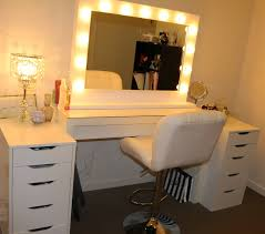 Vanity Light Bar Ikea by Furniture Gorgeous Design Of Mirrored Makeup Vanity For Home