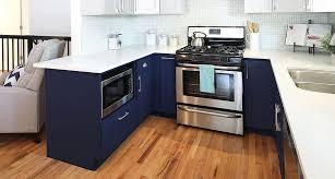 blue base kitchen cabinets navy blue shaker rta kitchen cabinets