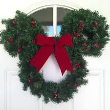 Christmas Decorations Mickey Mouse Outdoors by Best 25 Mickey Mouse Wreath Ideas On Pinterest Mickey Wreath