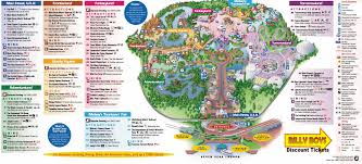 Greater Orlando Area Map by Disneyworld Map Clipart Collection