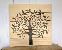 tree of life home decor tree of life home decor wooden sign rustic wall decor shabby
