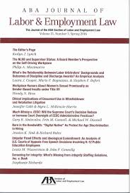 journal of management style guide aba journal of labor u0026 employment law university of minnesota