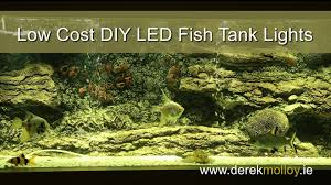led light low price aquarium diy led lights tutorial bright and low cost youtube