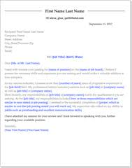 professional cover letter template get the with free professional cover letter templates
