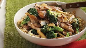 cuisiner du sauté de porc sauté de porc au brocoli et aux chignons iga recettes simple