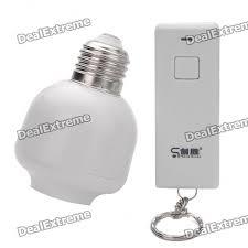 battery powered light bulb socket e27 to e27 remote control light bulb socket ac 110 250v 9 90