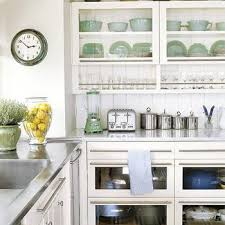 glass front kitchen display cabinets design ideas