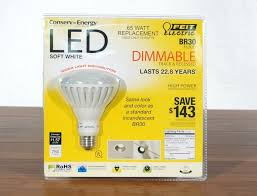 feit electric br30 flood dimmable 13w 65w led light bulb 750