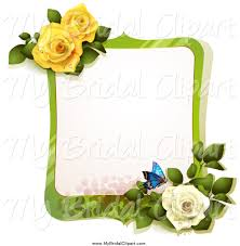 royalty free stock bridal designs of flowers