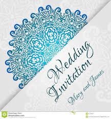 Silver Wedding Invitation Cards Vintage Silver Wedding Invitation Cover With Lace Stock Vector