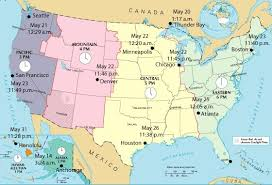 usa map with time zones and cities usa time zone map with states cities clock in and world zones