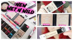 new wetnwild makeup 2017 first impressions try on