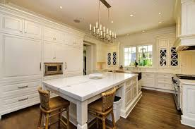white marble kitchen island white kitchen marble island hooked on houses