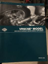 vrsc and vrscse service manuals harley davidson forums