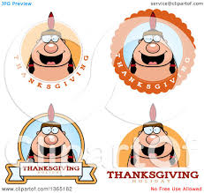 thanksgiving indian chief clipart of thanksgiving native american indian man badges