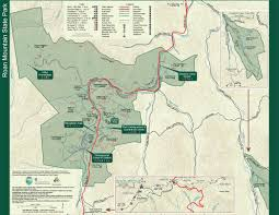 Tennessee Highway Map by Roan Mountain State Park U2014 Tennessee State Parks