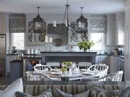 Sarah Richardson Dining Rooms Kitchen Shelves Over Bar Sink Airmaxtn