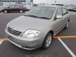 toyota corolla 2001 sedan used 2001 toyota corolla sedan g ta nze121 for sale bf31897 be