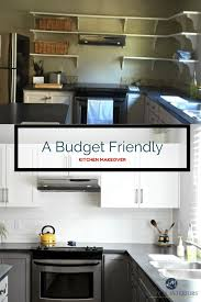 interiors kitchen a budget friendly kitchen update white gray and gorgeous