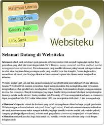cara membuat halaman utama web dengan php blog iseng iseng gw cara membuat template website dengan photoshop