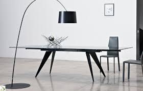tavoli design cristallo tavolo design da soggiorno ramos di bontempi arredo design