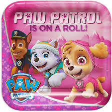 party city halloween plates paw patrol party supplies