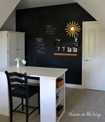 How To Build An Interior Wall How To Make A Chalkboard Wall In Your Home Office Craft Room