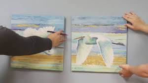 Hanging Canvas Art Without Frame How To Hang Canvas Artwork Youtube
