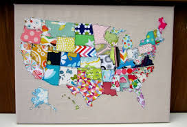 United States Map Art by Awesome Us Map Canvas Wall Art Pallet Project String And Wall