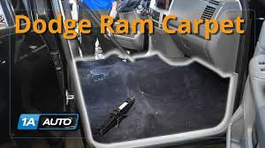 Dodge Ram Truck Used Parts - how to install replace carpet quad cab 2003 08 dodge ram 1500 buy