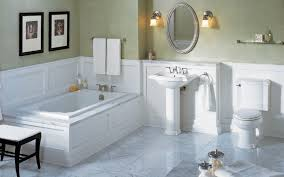 bathroom wainscoting ideas traditional bathroom with wainscoting by rusal construction