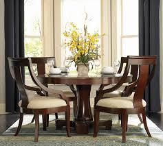 101181set hemphill cherry wood 5 pieces round pedestal table