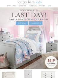 Juliette Bed Pottery Barn Pottery Barn Kids Up To 60 Off At Our Furniture Flea Ends