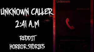 halloween horror nights reddit unknown caller 2 41 a m
