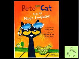 pete the cat and his magic sunglasses video book u2013 aacreatively