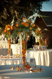 Fall Table Centerpieces by Table Centerpieces Tall Tapered Glass Vases Filled With Dried