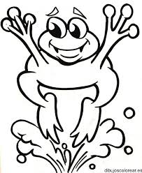 imagenes de un sapo para dibujar faciles saltar la rana para colorear opticanovosti 3bef5e527d71