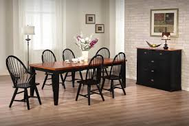 two tone dining table set dining table with chairs inside amys office gallery two tone kitchen