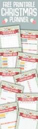 free christmas planner printables the