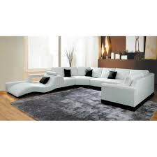 canapé panoramique en cuir canapé panoramique cuir blanc avec méridienne achat vente