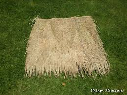 Tiki Hut Material Mexican Palm Thatch Roofing Materials How To Trim Palm Thatch