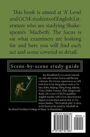 gcse u0026 u0027a u0027 level revision notes for shakespeare u0027s macbeth scene