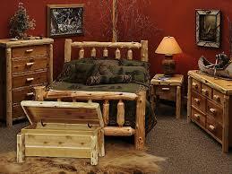 Wooden Log Beds Cedar Wood Bedroom Sets Custom Made Log With Bedroom Ffcoder Com