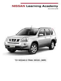 nissan australia x trail nissan m9r training manual fuel injection diesel engine