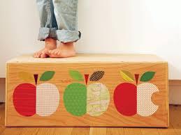 how to make a decorative kids u0027 step stool hgtv
