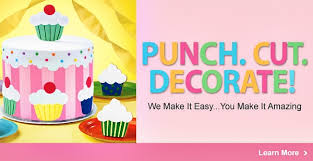 punch cut decorate scrapbook your cakes with wilton u0027s new sugar