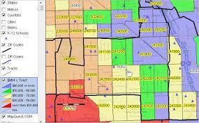 chicago zip code map census tract demographics by zip code decision