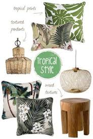 tropical style and decor i need to live here